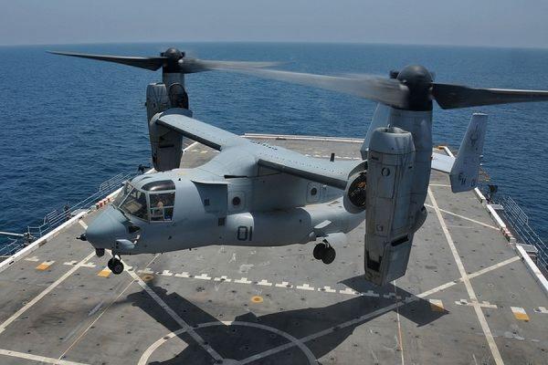 Один человек погиб в результате крушения конвертоплана ВВС США на Гавайях