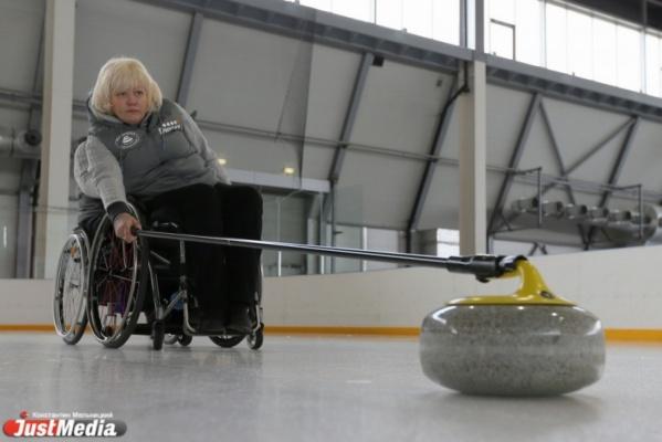 Свердловская сборная по керлингу на колясках взяла «серебро» на первенстве России