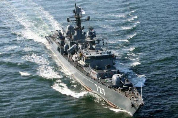В Средиземном море стартовали военно-морские учения российских и китайских кораблей