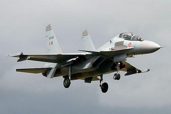В Индии разбился многоцелевой истребитель Су-30