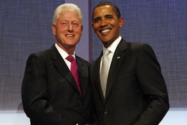 Билл Клинтон и Барак Обама обменялись шутками в новом Twitter президента США