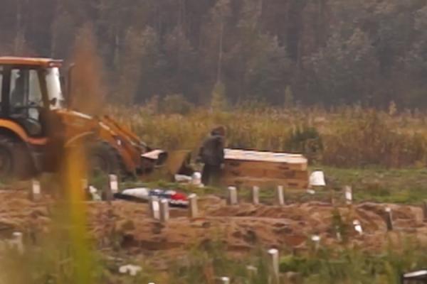 Прокуратура Петербурга проверяет ролик с захоронениями трупов при помощи бульдозера