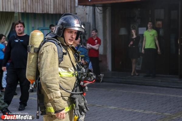 При пожаре на улице Гастелло никто не пострадал