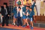 Свердловские самбисты завоевали все золото всероссийских командных соревнований