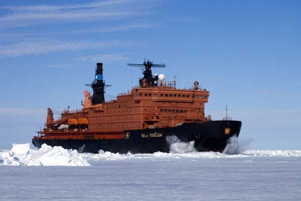 Россия получит три атомных ледокола
