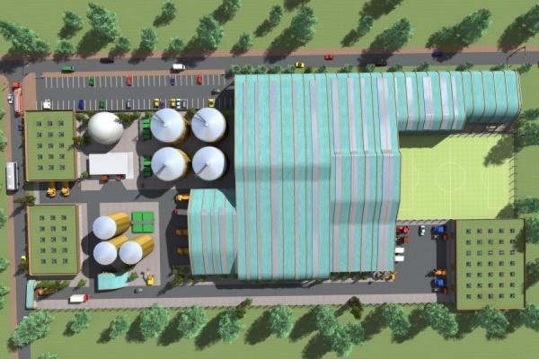 В районе южного обхода ЕКАД появится мусороперерабатывающий завод