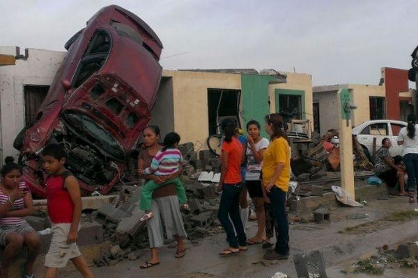 В результате торнадо в мексиканском городе Сьюдад-Акунья погибли 13 человек