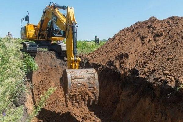 Россия вырыла 100-километровый ров в Ростовской области на границе с Донбассом