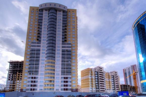 «Атомстройкомплекс» завершил строительство первого дома в ЖК «Гольфстрим»