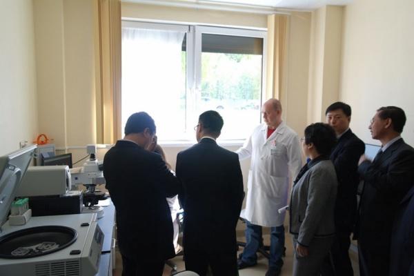 Китайской делегации устроили экскурсию по ОДКБ №1
