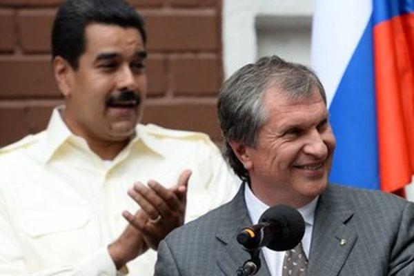 «Роснефть» собирается вложить 14 млрд долларов в нефтегазовый сектор Венесуэлы