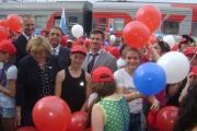 Пятьсот юных свердловчан отправились на Черноморское побережье на первом в этом году поезде «Здоровье»