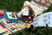 В Екатеринбург везут лоскутные кукольные одеяльца со всего мира