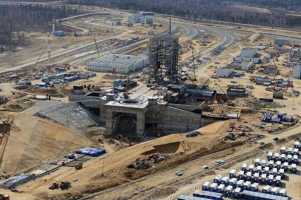 Строительные работы на космодроме Восточный вышли на финишную прямую
