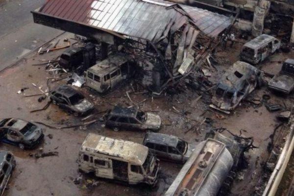 Более 100 человек погибли в результате взрыва на автозаправке в столице Ганы