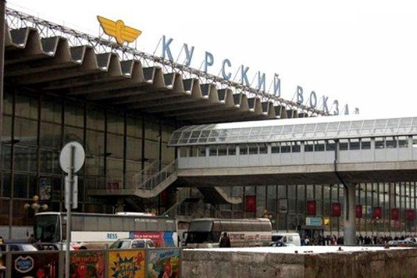 С Курского вокзала в Москве после сообщения о бомбе эвакуировали 700 человек