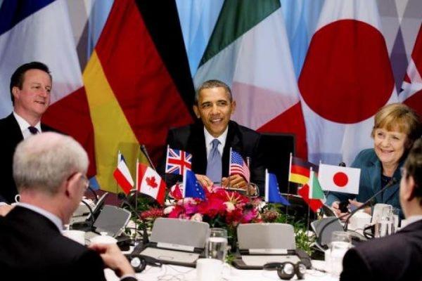 Главы стран G7 единогласно поддержали стратегию санкционного давления на РФ