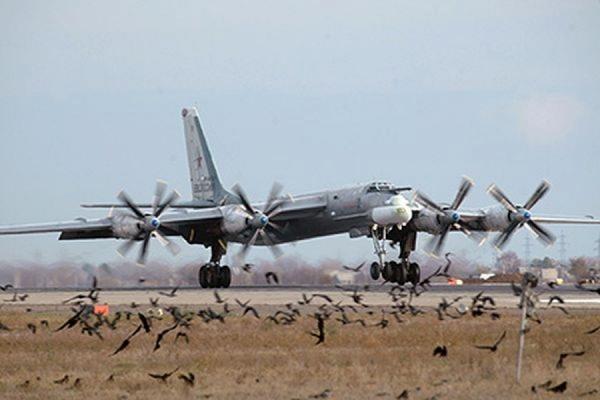В результате аварии бомбардировщика Ту-95МС в Амурской области погиб один человек
