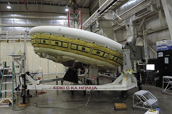 В США неудачей завершились испытания «летающей тарелки» для будущих посадок на Марс