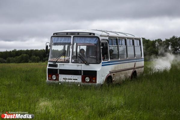 В Серове из автобуса выпала бабушка и сломала себе бедро