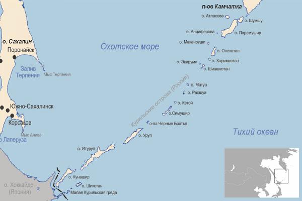 Военные городки начали строить на островах Итуруп и Кунашир