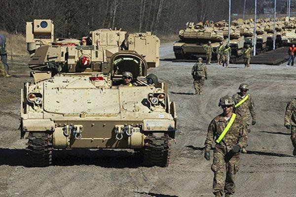 США могут разместить в Восточной Европе некоторое количество тяжелых вооружений