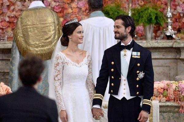 36-летний принц Швеции Карл Филипп женился на участнице реалити-шоу