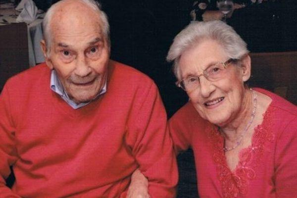 91-летняя Дорин Лаки и 103-летний Джордж Кирби стали самыми пожилыми молодоженами в мире