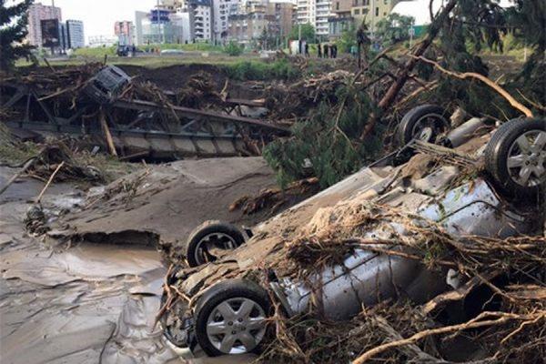 В Грузии 15 июня объявлено днем траура по жертвам наводнения