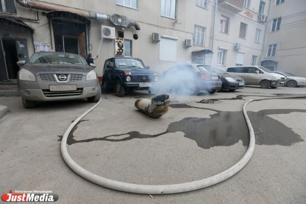 Минувшей ночью в Екатеринбурге сгорели «Тойота» и ВАЗ