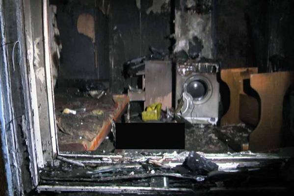 В Березовском на пожаре погибла женщина