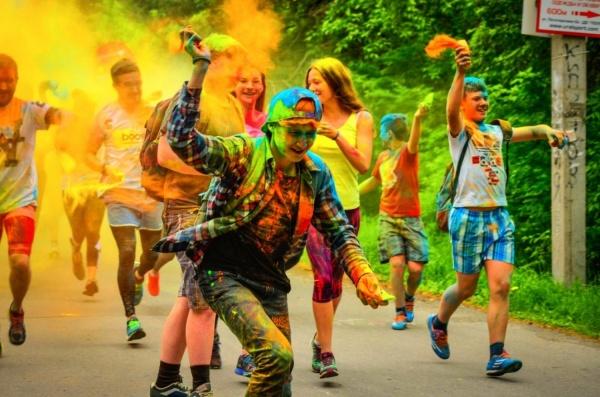 В Екатеринбурге впервые пройдет красочный забег на 10 километров