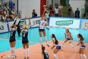 Сборная России по волейболу начала выступление в «Кубке Ельцина» с победы