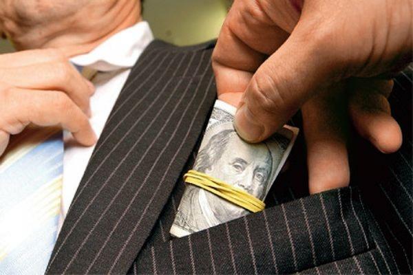 Россия попала в список из 12 стран с наивысшим уровнем коррупции