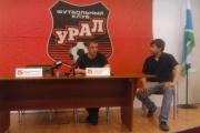 «Уралу» надо занять место выше стыков». Белорусский специалист дал первую пресс-конференцию в качестве главного тренера футбольного клуба