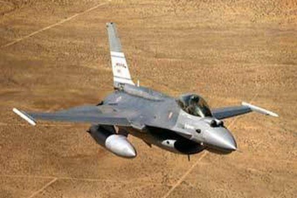 В штате Аризона разбился истребитель F-16