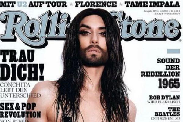 Кончита Вурст разделась для обложки австрийского Rolling Stone