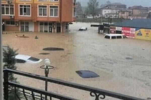 В Сочи подтоплено более 560 жилых домов, эвакуированы около 280 человек