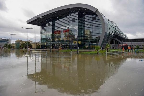 Ливневые дожди в Сочи привели к подтоплению города и близлежащих населенных пунктов