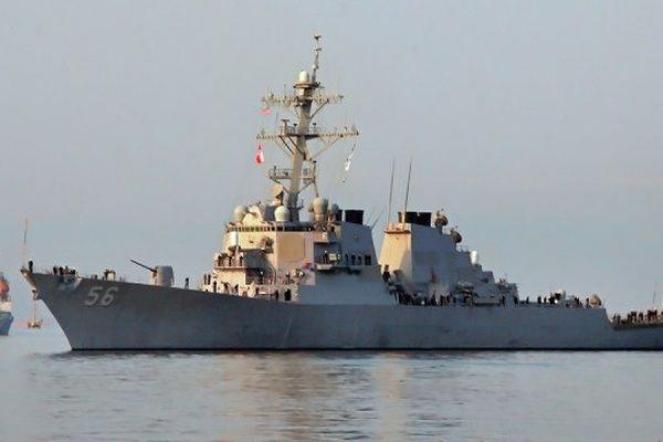 В порт Батуми вошел американский эсминец «Лабун»