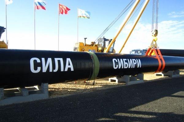 Китай начал строить свою часть газопровода «Сила Сибири»