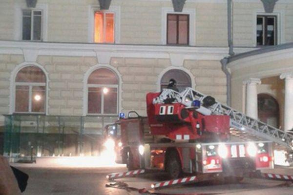 Пожар в здании консерватории в центре Москвы потушен