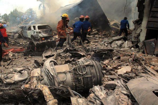 Все пассажиры разбившегося в Индонезии самолета «Геркулес» С-130 погибли