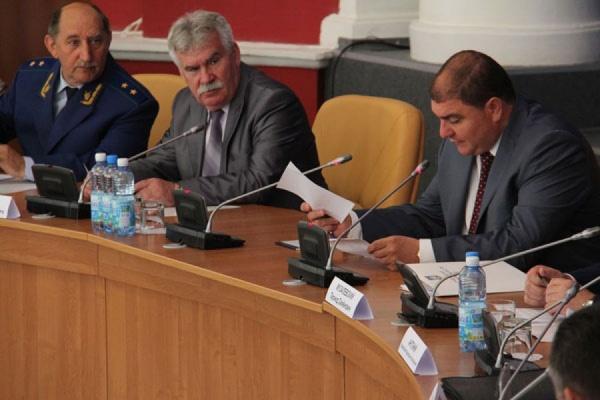 В Орловской области обсудили вопросы обеспечения правопорядка