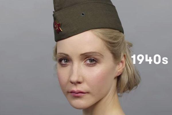 Видео об эталонах женской красоты в России за 100 лет стало хитом YouTube