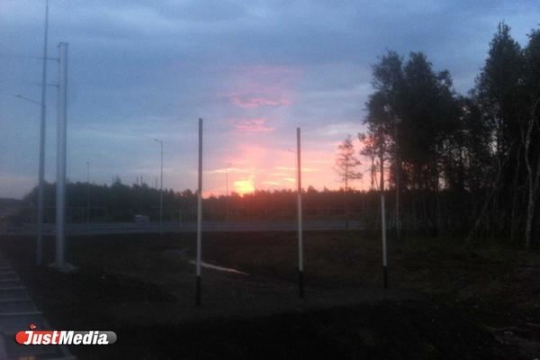 На подъезде к МВЦ «Екатеринбург-ЭКСПО» демонтировали указатель с ошибкой