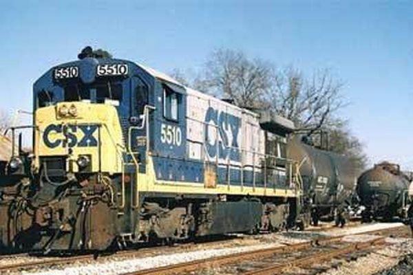 В США рядом с городом Ноксвилл с рельсов сошел поезд, перевозивший токсичные вещества