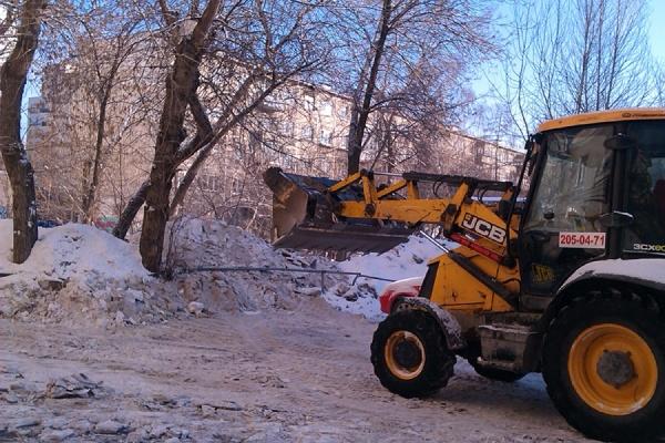 Снежную свалку в Орджоникидзевском районе превратят в технологичный и экологически безопасный объект