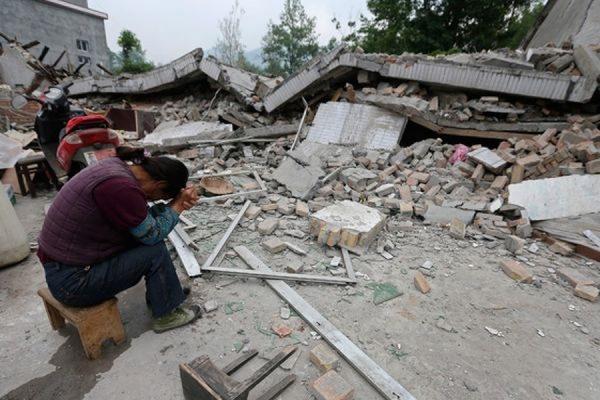 На северо-западе Китая произошло землетрясение магнитудой 6,1