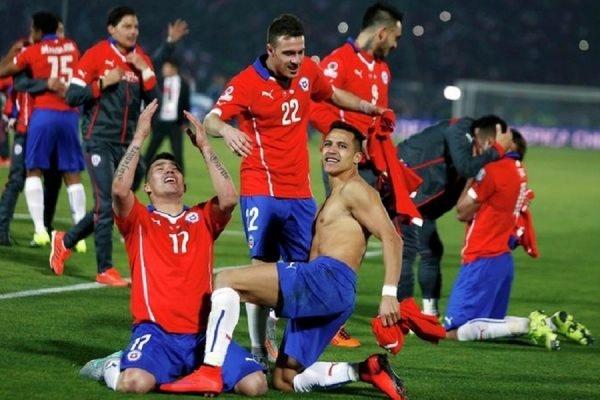 Сборная Чили впервые в истории завоевала Кубок Америки
